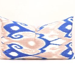decorative ikat pillow, Lumbar Ikat Home Decor Pillow