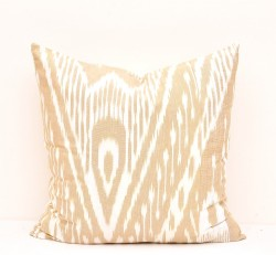 ikat pillow cover