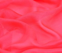 Red Pure Silk Gauze Fabric, red chiffon gauze fabric