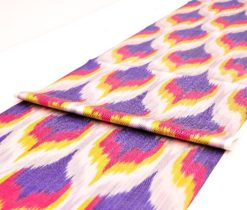 silk cotton ikat fabric