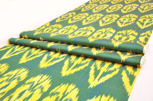 ikat fabric upholstery table runner
