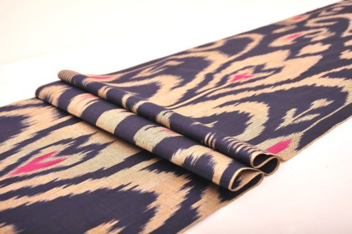 Ikat Fabric, Ikat Upholstery Fabric, Indian Ikat Fabric, Handwoven Ikat for cushion covers, Handloom Ikat Cotton Fabric, Homespun Cotton
