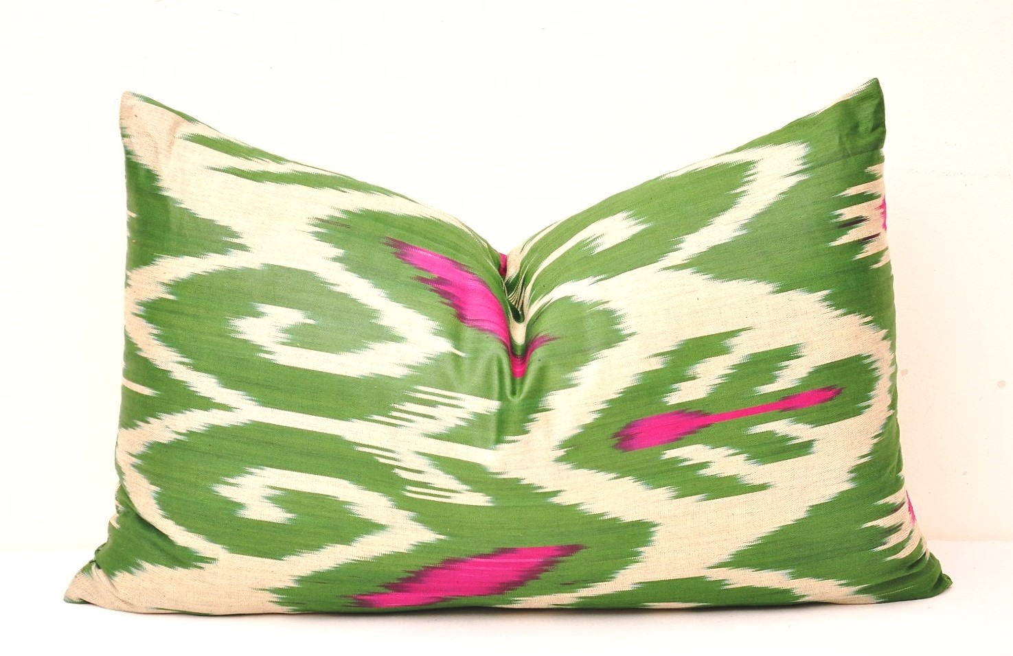 Decorative Lumbar Pillows Green : Green decorative throw pillows - Alesouk Grand Bazaar online shopping