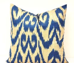 Decorative Throw Ikat Pillow Cover