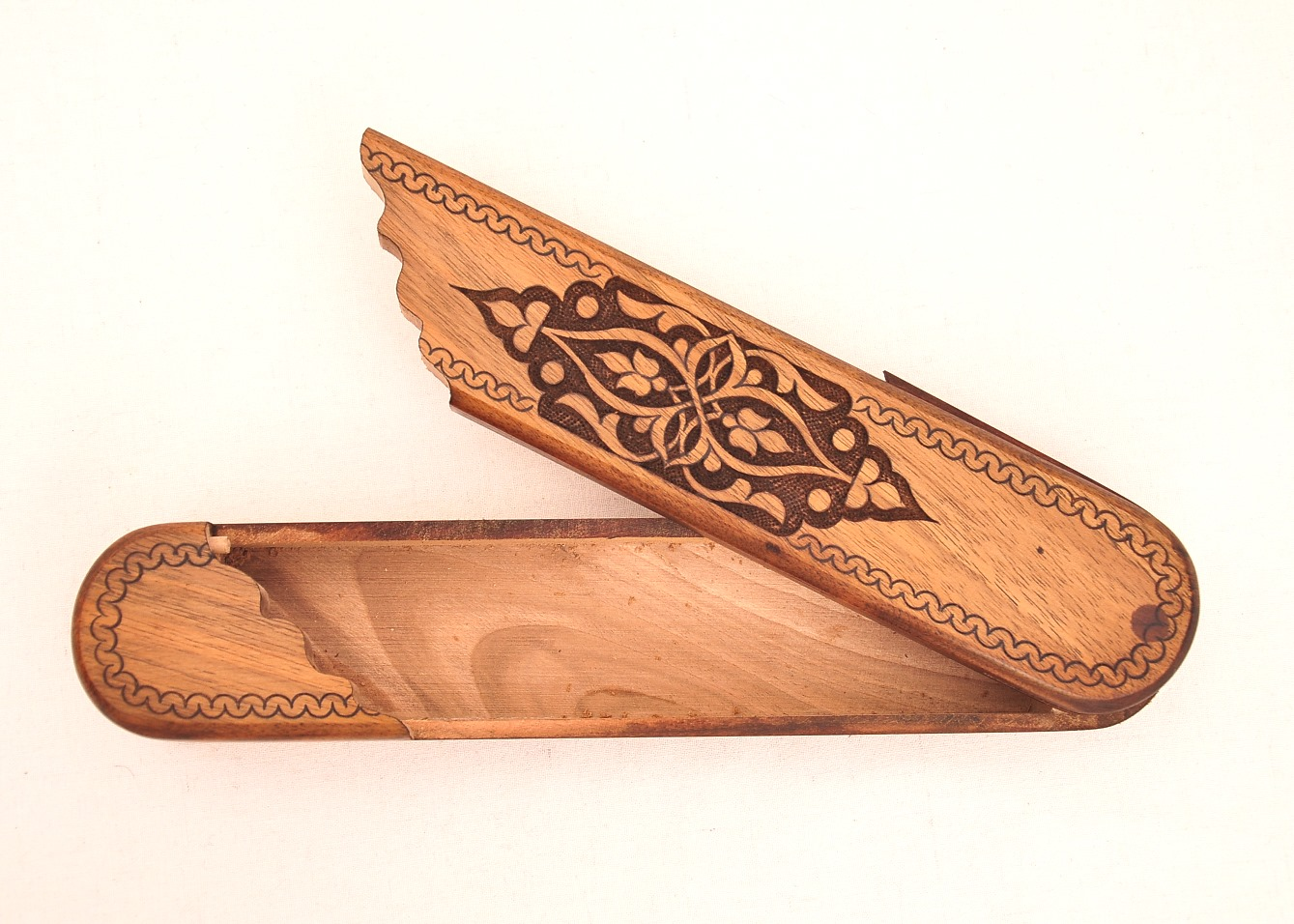 Engraved Wooden Pencil Case The Best Pencil Cases