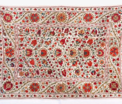 Wall Décor Wall Hangings Suzani blue Suzani Wallhanging handembroidered Embroidery Wall textile