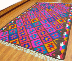 room size kilim rug turkish