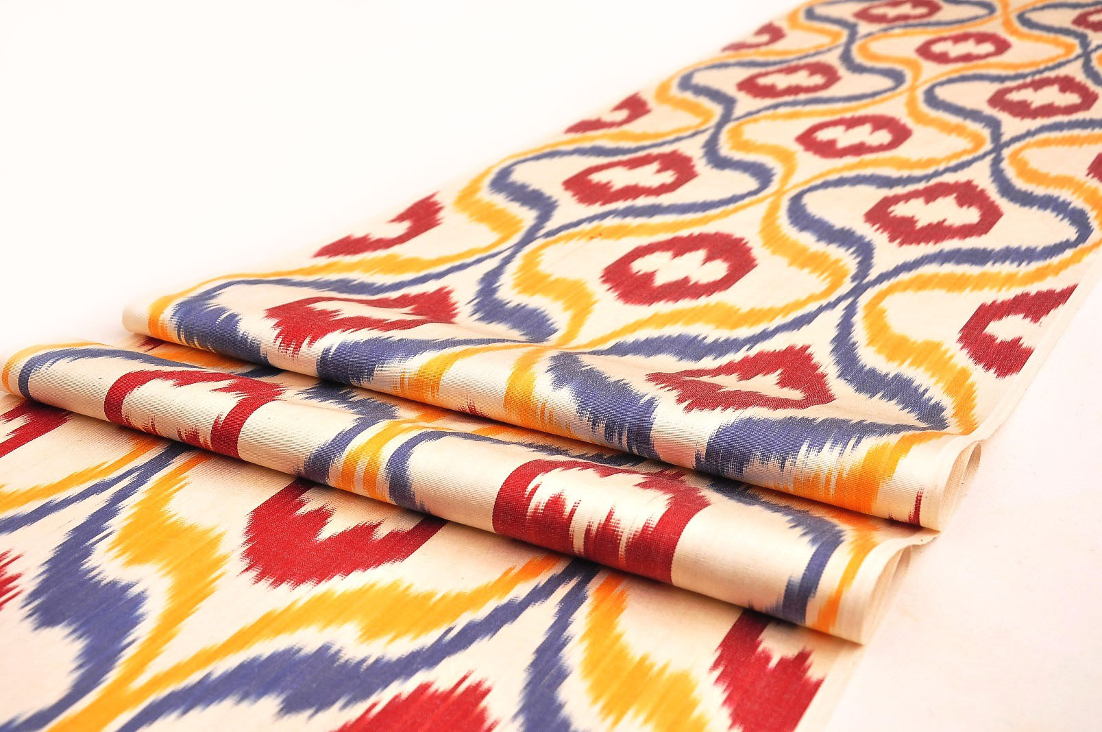 Silk Ikat Fabric By The Yard Alesouk Grand Bazaar