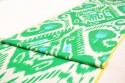 green ikat upholstery fabric online, discount upholstery