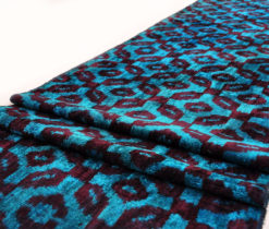 Blue Decorative Velvet Fabric, velvet material, velvet material for sale, blue velvet fabrics