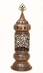 Rustic Moroccan Candle Lantern