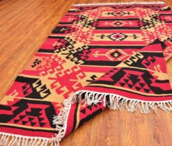 Turkish Decorative Rug,Kilim Rug,Colorful Kilim Rug,Bohemian Kilim Rug,Ethnic