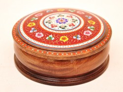 Painted trinket box