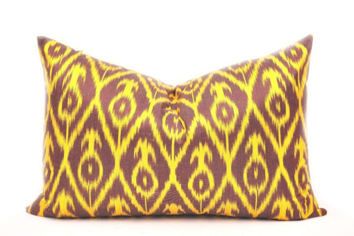 Decorative Sofa Accent Pillow, ikat pillow cover