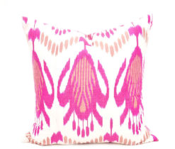 Pink Designer Decorative Pillow