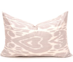 Jacob Linen design Ikat Throw Pillow, decorative lumbar pillows