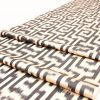 Black Ikat Upholstery Fabric - Black and White Ikat by the Yard