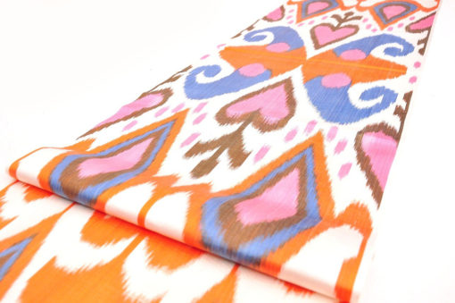 Fabric by the Yard Ikat Fabric