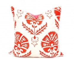 16 x 16 inch Suzani Pillow Case
