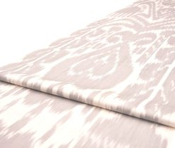 Ikat fabric upholstery, Tan Ikat Upholstery Cotton Fabric