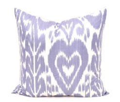 Blue Decorative Pillow 20 x 20 inch, Throw Pillow 20x20 inch