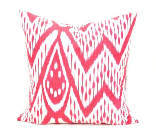 Red Throw Pillow Case