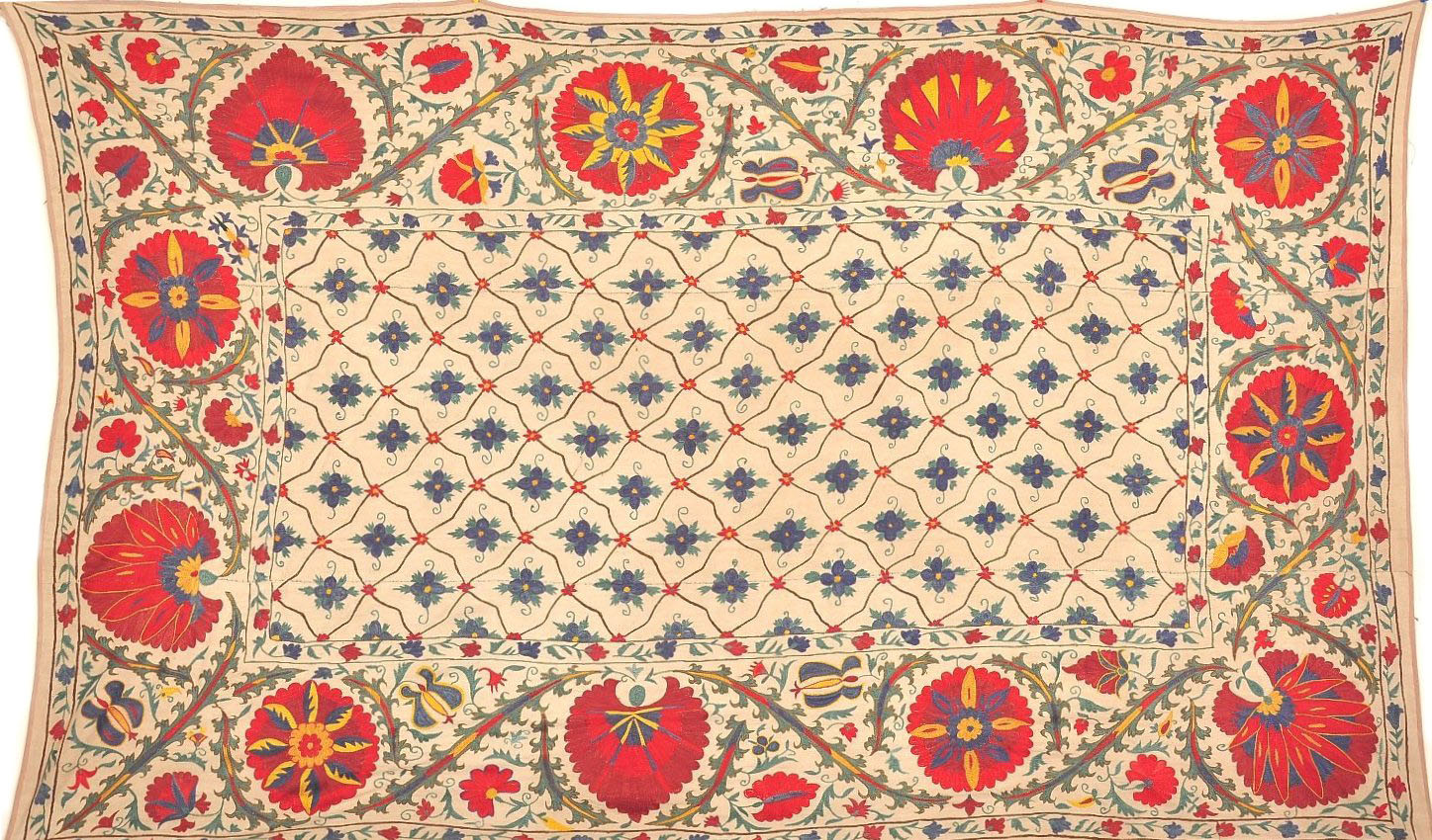 Suzani Hand Embroidery Tapestry Alesouk Grand Bazaar