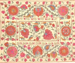 suzani wallhanging, Suzani Embroidery Tablecloth