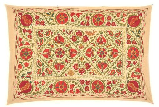 suzani wall hanging, Oriental Decorative Suzani Throw
