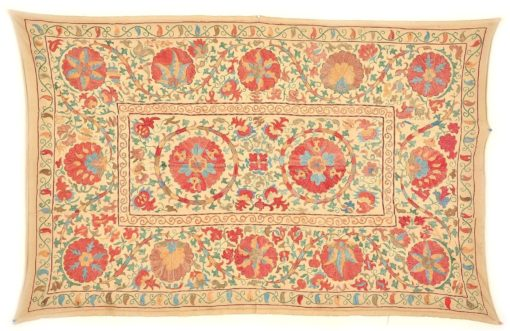Wall Hanging Table Cover Ethnic Suzani