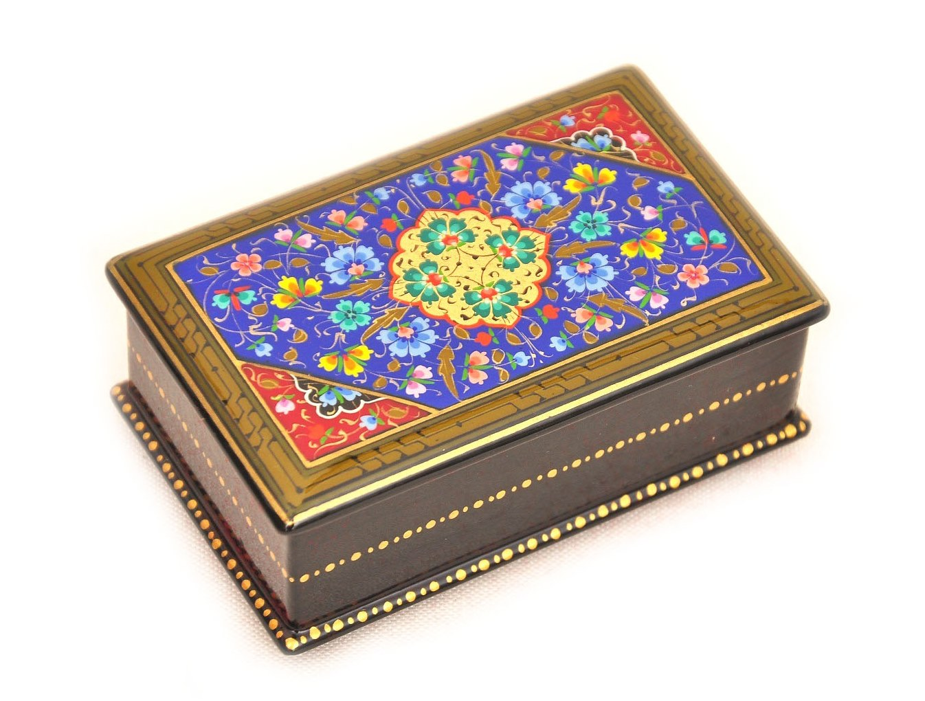 Blue handmade lacquer box accessory best