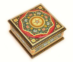 Christmas Gift Lacquer Box, Beautiful Lacquer Earing Box