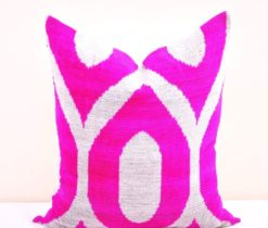 Pink Throw Decor Pillow, Decorative Throw Pillow Cover