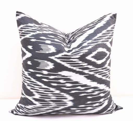 PILLOW Black Throw Pillow Case