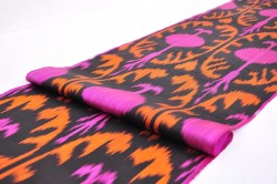 ikat upholstery
