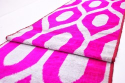 Velvet Ikat Design Ikat Fabric