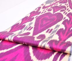 Authentic Ikat Fabric SALE Ikat Upholstery Fabric Throw