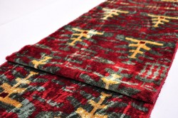 Antique style Ikat, Velvet fabric