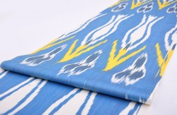 Drapery Fabric, Upholstery Fabric, Ikat Fabric, Fabric By The Yard, Slip Cover Fabric, Duvet Cover Fabric, Pillow Fabric
