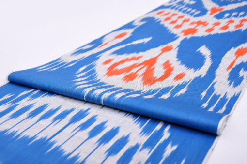 trendy ikat fabric by the yard, cotton fabric by the yard