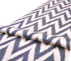 Chevron Design Soft Ikat Furnishing