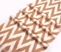 Interor Ikat Chevron Fabric Yards