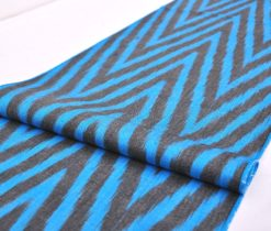 Ikat Fabrication Textile