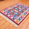 Oriental Home Decor Kilim Rug, Bohemian Rug, Turkish Kilim Rug, Carpet Rug