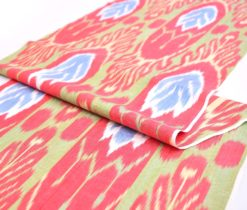 Ethnic Ikat Fabric By The Yard