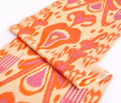 ikat fabric, ikat upholstery, 20 inch width fabric