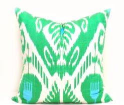 Green Decorative Sofa Pillow Case