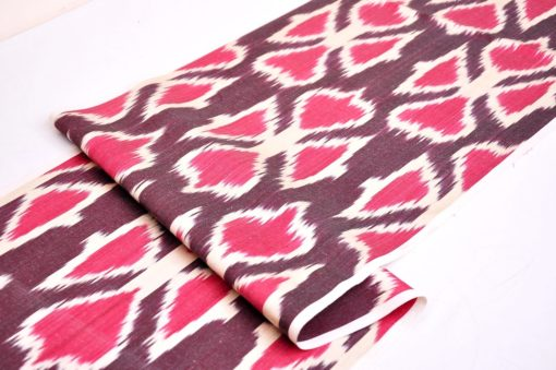 Silk Ikat Fashion Fabric