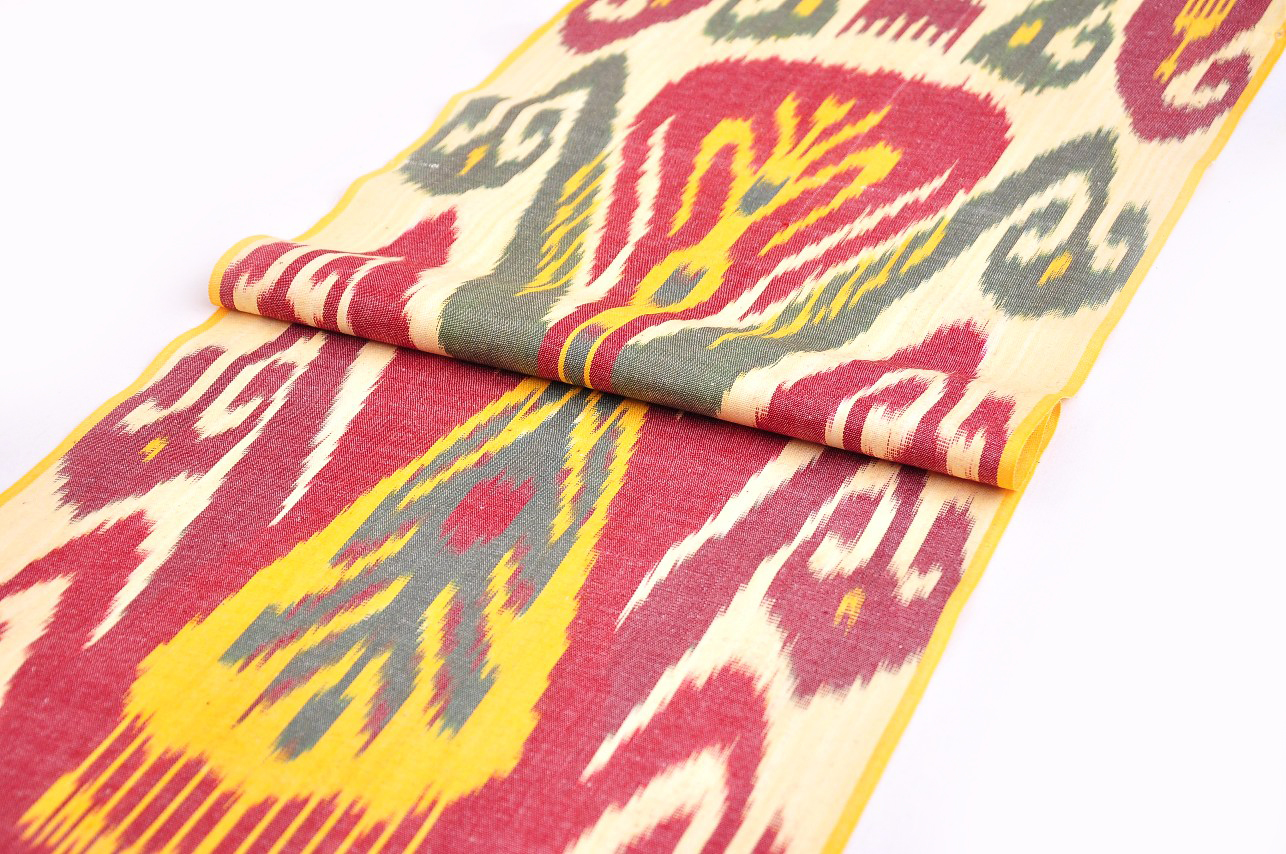 Colorful Ikat Clothing Cotton Fabric Textile Trendy Ikat