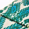 Stylish Designer Ikat Throw Fabric